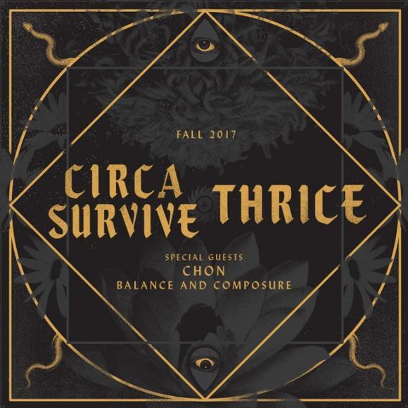 Thrice & Circa Survive at Mesa Amphitheater