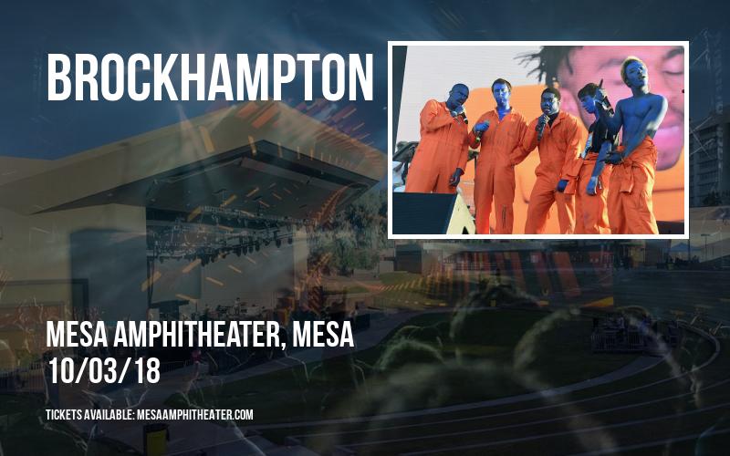 Brockhampton at Mesa Amphitheater