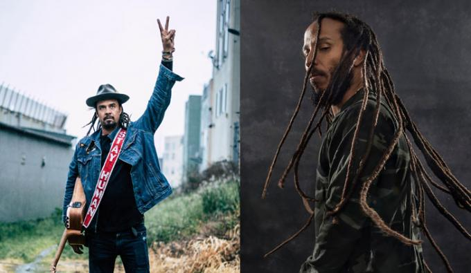 Michael Franti and Spearhead & Ziggy Marley at Mesa Amphitheater