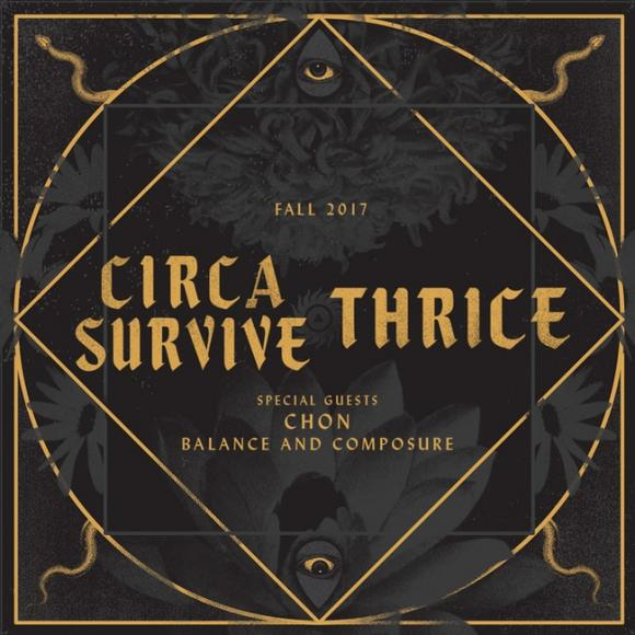 Thrice & Circa Survive at Mesa Amphitheater