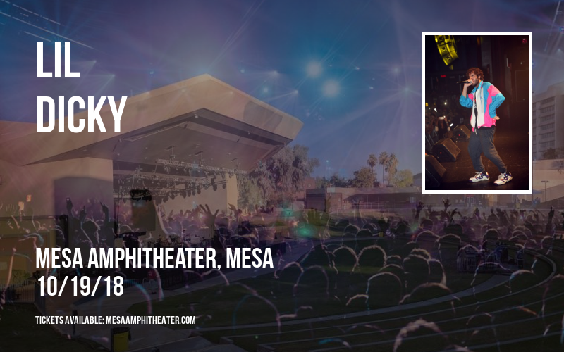 Lil Dicky at Mesa Amphitheater