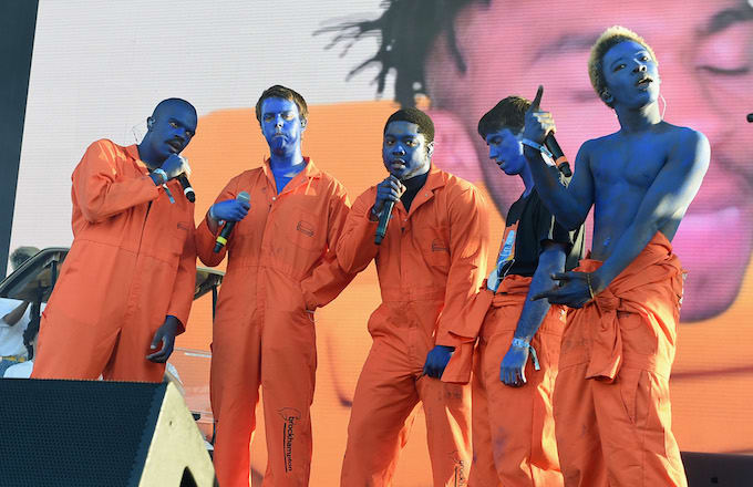 Brockhampton at Mesa Amphitheater