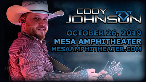 Cody Johnson at Mesa Amphitheater