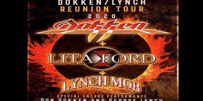 Dokken, Lita Ford & Lynch Mob at Mesa Amphitheater