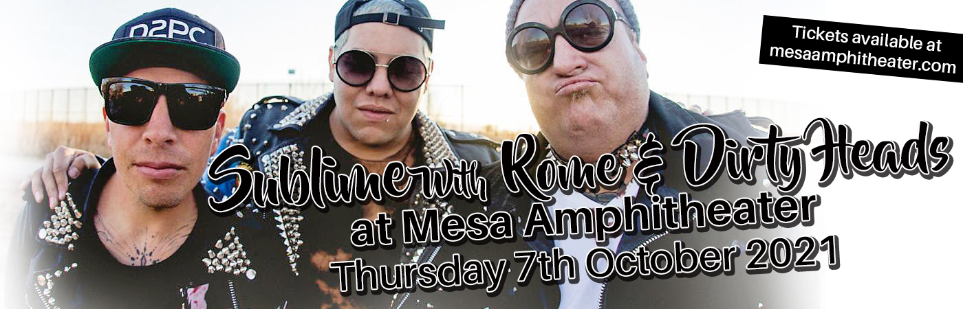 Sublime With Rome & Dirty Heads at Mesa Amphitheater
