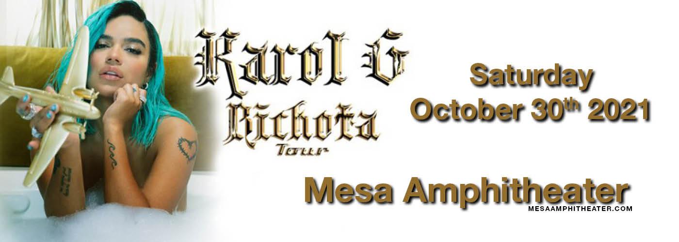 Karol G: Bichota Tour at Mesa Amphitheater