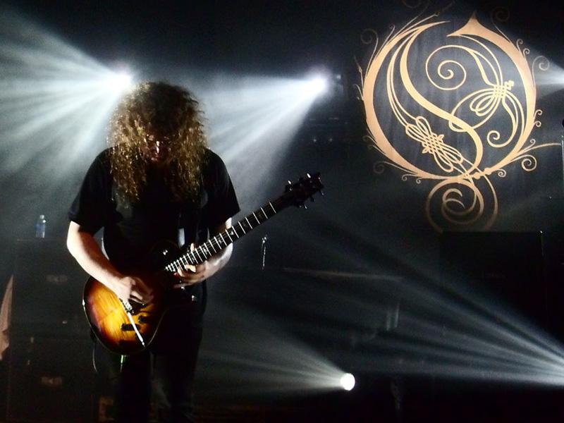 Opeth and Mastodon Co-Headline Tour at Mesa Amphitheater